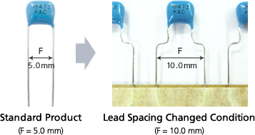 Changing Lead Spacing ,pitch