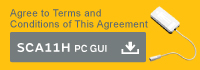 Agree to Terms and Conditions of This Agreement  SCA11H PC GUI