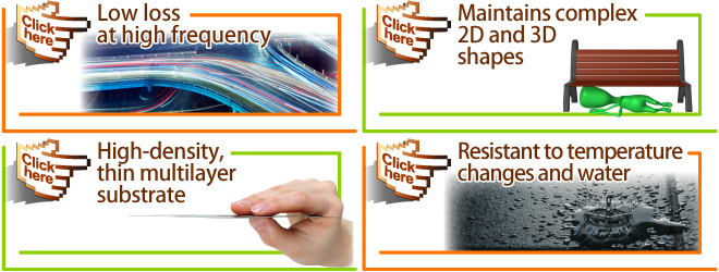 MetroCirc™ (Multilayer Resin Substrate) Characteristics
