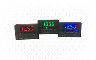 DCM20 Series three-function DC power meters