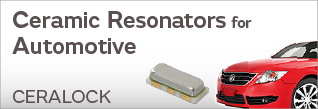 Ceramic Resonators for Automotive (CERALOCK®)