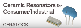 Ceramic Resonators for Consumer / Industrial (CERALOCK®             )